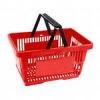 Корзина покупателя Carteno PAN-2 пластик красная