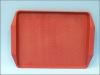 Поднос пластик Masterglass 45*35,5см красный