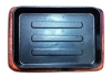Сковорода чугун на подставке прямоугольная 20х15см MVQ 71068-S